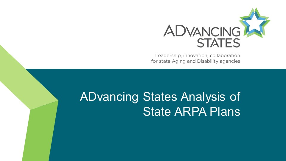 ADvancing States' Analysis of State ARPA Spending Plans